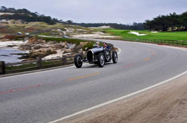 Black Bugatti T35 B