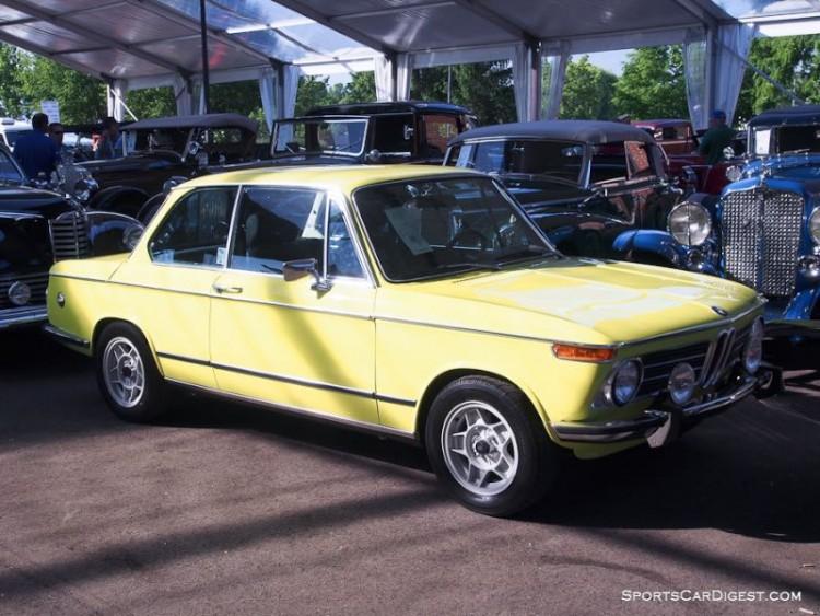 1972 BMW 2002 2-Dr. Sedan