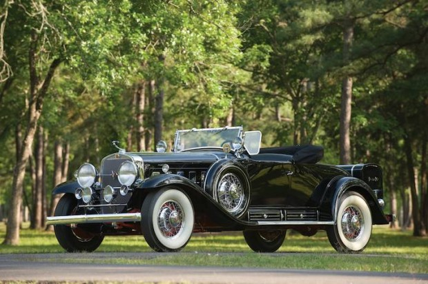 1930 Cadillac 452 V-16 Roadster, Body by Fleetwood