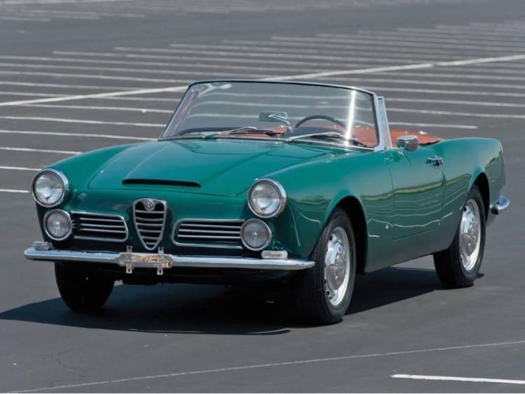 1963 Alfa Romeo 2600 Spider, Body by Touring