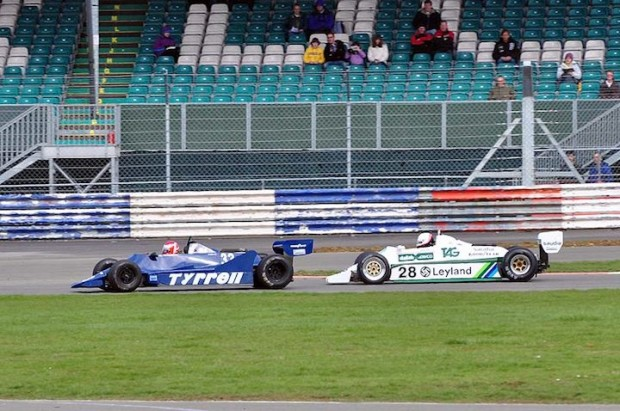 Williams FW07 and Tyrell 009
