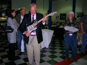 Dan Gurney enjoying the inaugural Legends of Riverside Racing Film Festival