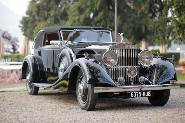 1935 Rolls-Royce Phantom II Continental Drophead Coupé