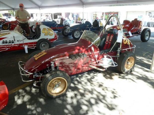1964 Trevis Offy Midget Roadster