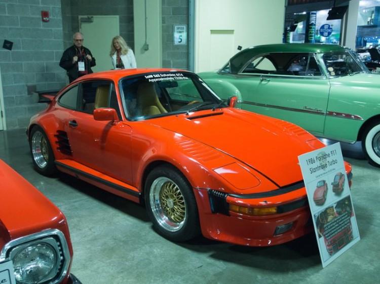 1986 Porsche 911 Turbo Slantnose Coupe