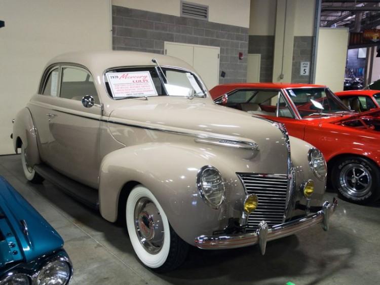 1939 Mercury 99A Club Coupe
