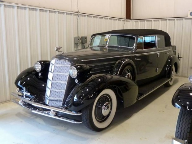 1934 Cadillac 370-D V-12 All Weather Phaeton