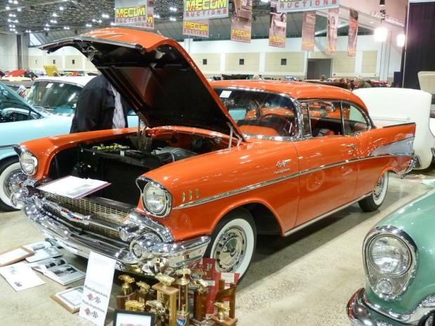 1957 Chevrolet Bel Air FI 2-Dr. Hardtop