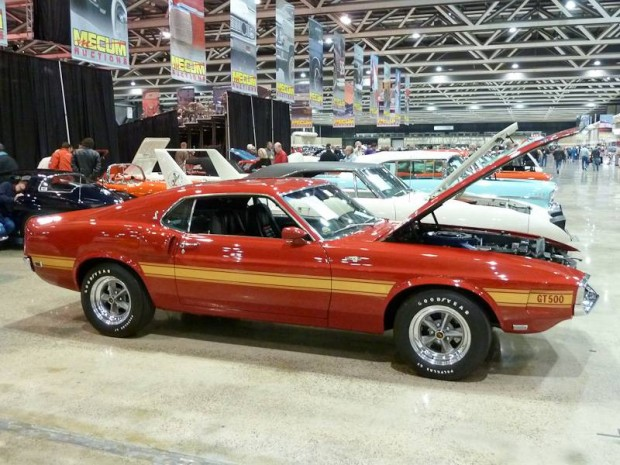 1969 Shelby Mustang GT500 Fastback