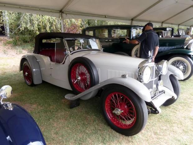 1932 Alvis Speed 20 SA 4-Door Tourer, Cross and Ellis coachwork