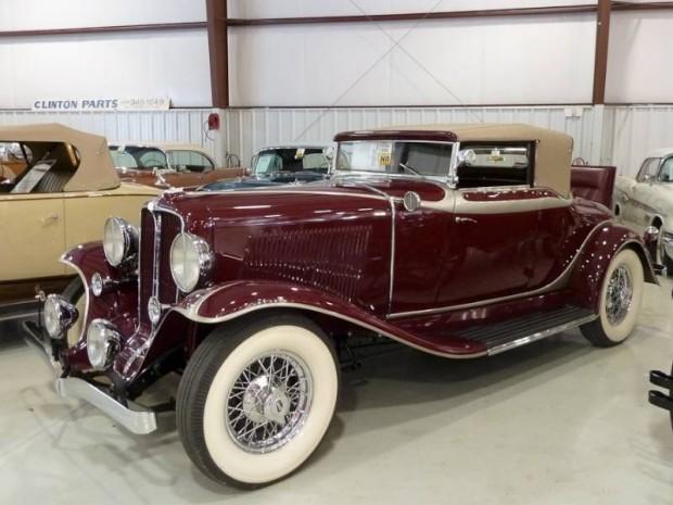 1931 Auburn 8-98 Cabriolet