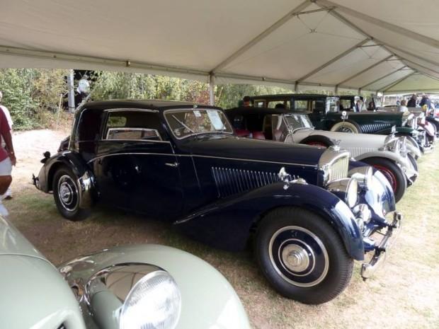 1939 Bentley 4.25 Litre Sunroof Coupe, Vanvooren Coachwork