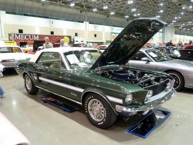 1968 Ford Mustang GT/CS Notchback