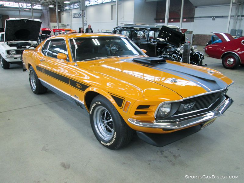 1970 Ford Mustang Mach 1 Twister Special 2-Dr. Hardtop