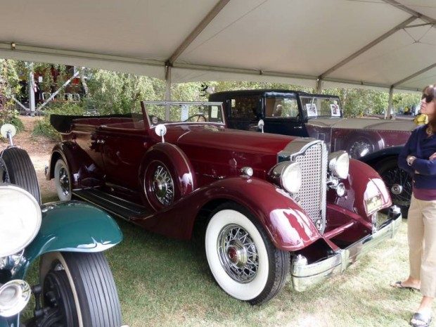 1934 Packard 1107 Twelve Convertible Sedan