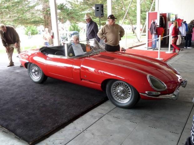 1962 Jaguar XKE SI flat floor Convertible