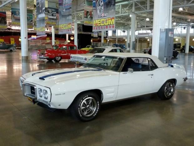 Lot # S106.1 1969 Pontiac Firebird Trans Am Replica Convertible