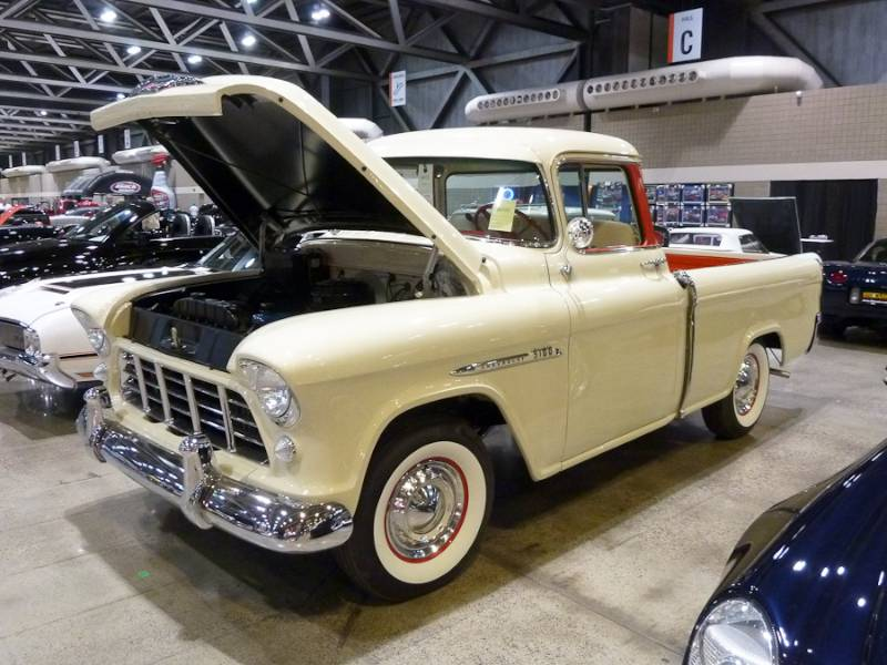 1955 Chevrolet 3124 Cameo Carrier Pickup