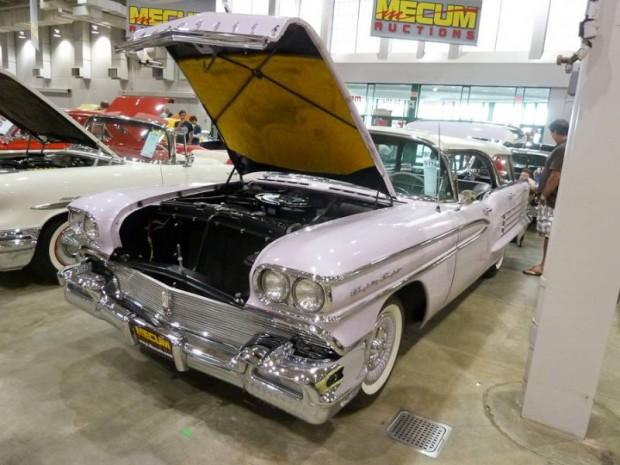 1958 Oldsmobile Dynamic 88 4-Dr. Hardtop Fiesta Station Wagon