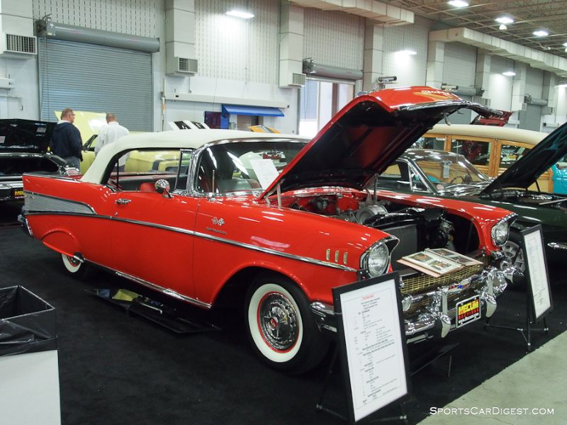 1957 Chevrolet Bel Air FI Convertible