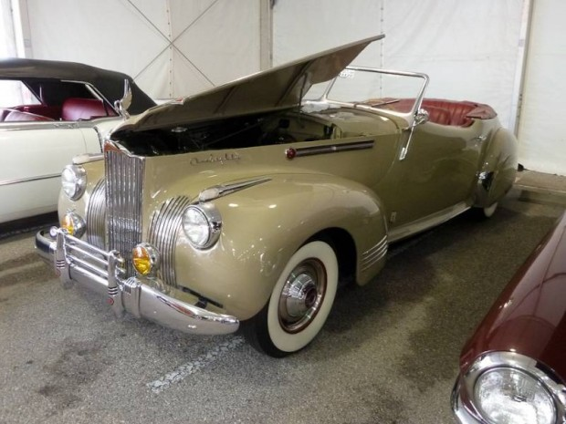 1941 Packard One Eighty Convertible Victoria Darrin