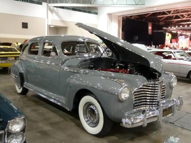 1941 Buick Century 4-Dr. Touring Sedan