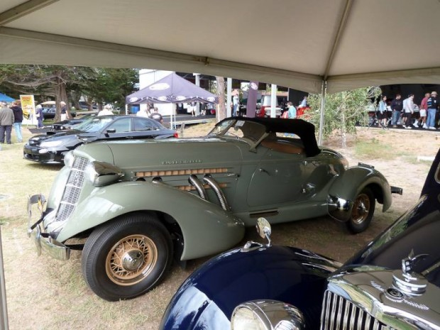 1936 Auburn 852 Supercharged Boattail Speedster