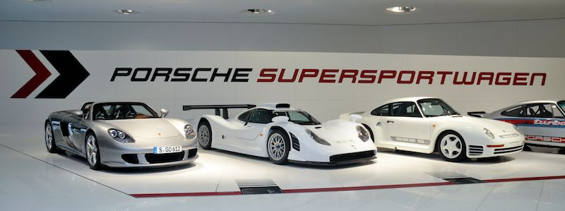 60 years of super sports cars exhibit at porsche museum. Black Bedroom Furniture Sets. Home Design Ideas