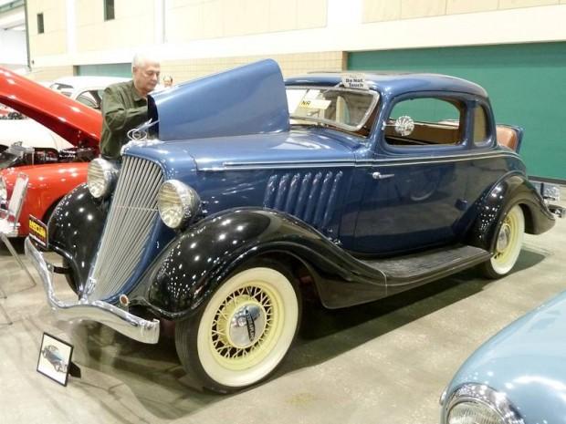 1934 Hudson Terraplane Coupe
