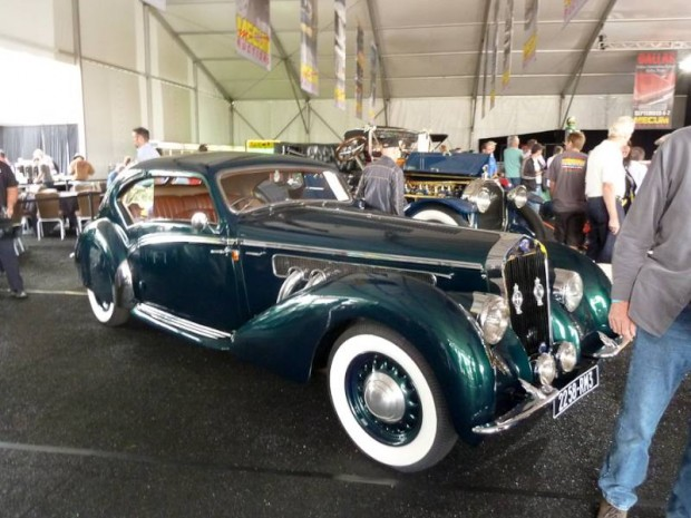 1938 Delage D8-120 Aerosport Coupe, Body by LeTourneur & Marchand