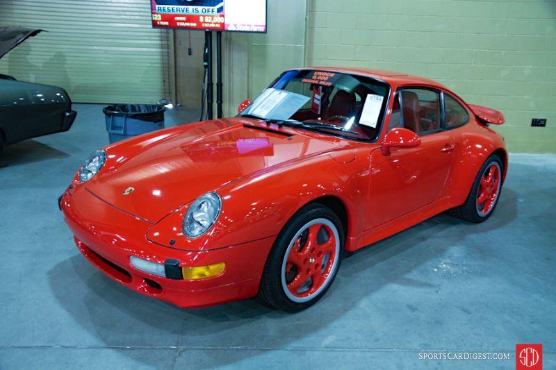 1996 Porsche 911 993 Turbo Coupe