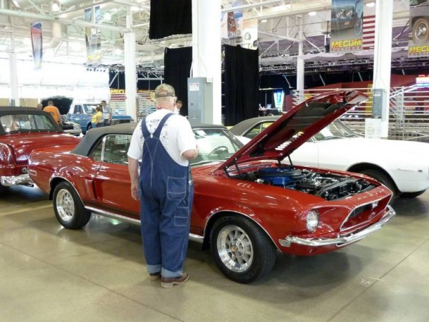 1968 Ford Mustang GT500KR Fake Convertible