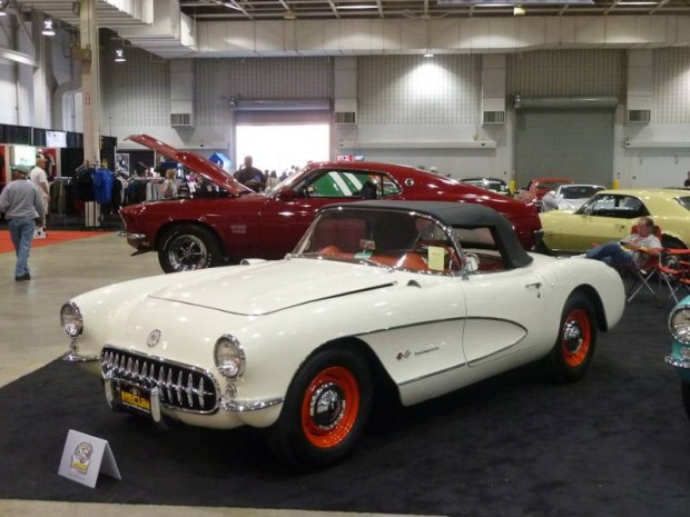 1957 Chevrolet Corvette FI Convertible Factory Airbox