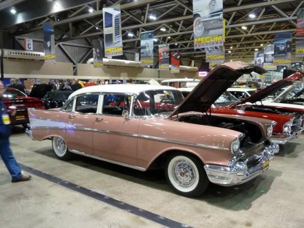 1957 Chevrolet Bel Air 4-Dr. Sedan
