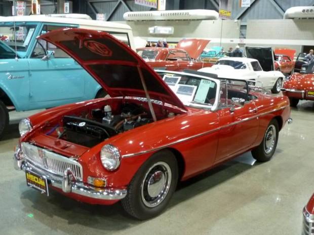 1967 MG B Convertible