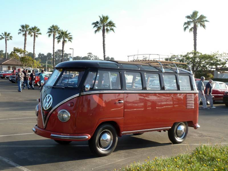 Russo and steele newport beach 2013 auction report for 1958 vw bus 23 window
