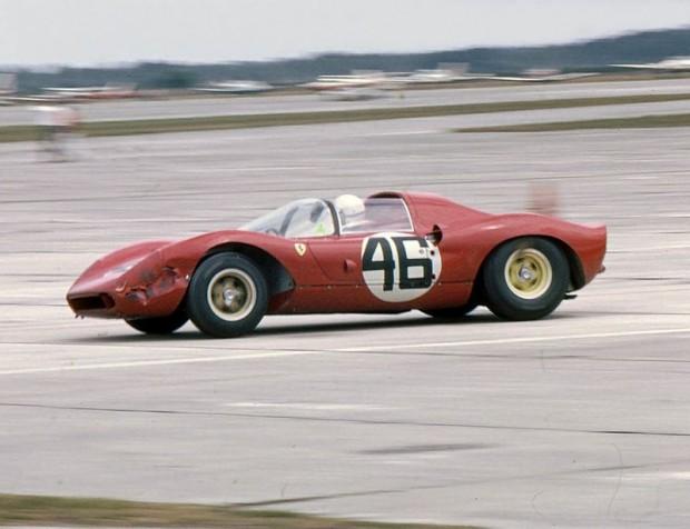 Ferrari Dino 206P, Ludovico Scarfiotti, Lorenzo Bandini, Sebring 12 Hours 1966
