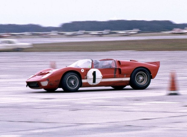 Shelby American Ford X-1, Ken Miles, 1966 Sebring 12 Hours