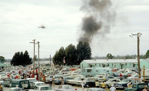 Sebring 12 Hours 1966 fire