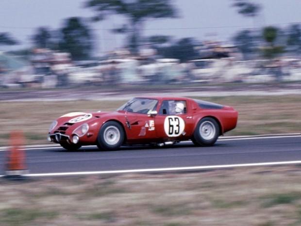 Russo, Andrey, Adamich, Alfa Romeo Giulia TZ2, Sebring 12 Hours 1966