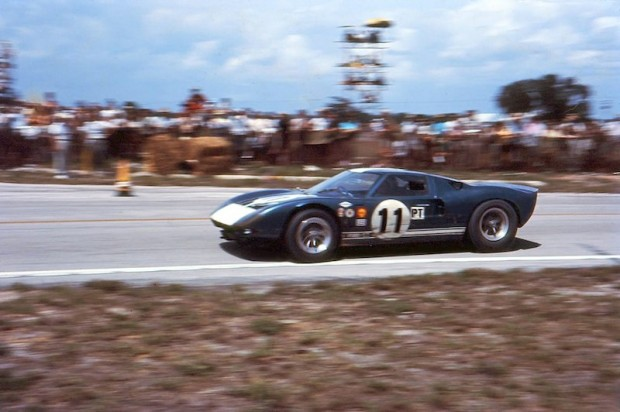 Ford GT40 of Ken Miles and Bruce McLaren