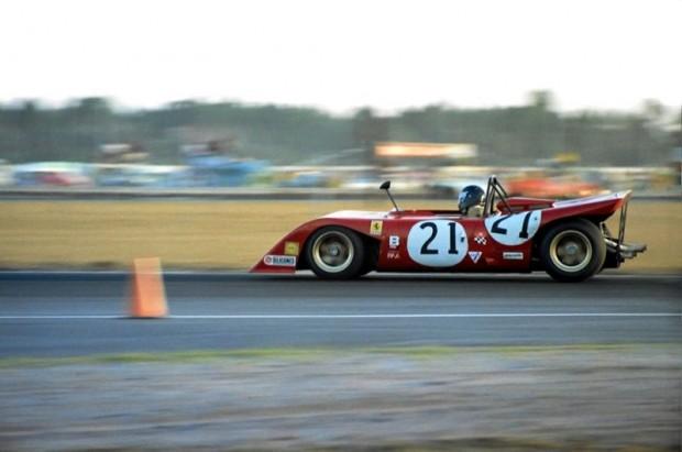 Luigi Chinetti, Jr. - Ferrari 312P at Daytona 24 Hours 1971