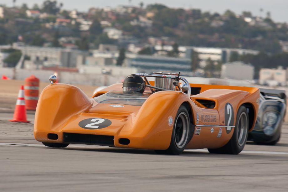 Robert Ryan's 1968 McLaren M6B. 2013 Coronado Speed Festival (Taken at 1/500 sec.@ f/5.0 - 100 ISO) © 2013 Victor Varela
