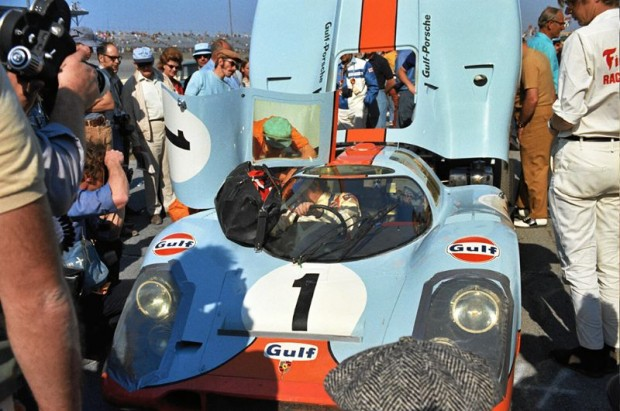 Jo Siffert and Derek Bell Gulf Porsche 917K