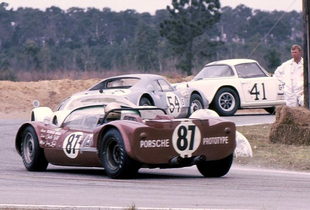 Porsche 904-8 Bergspyder, 1966 Sebring 12 Hours
