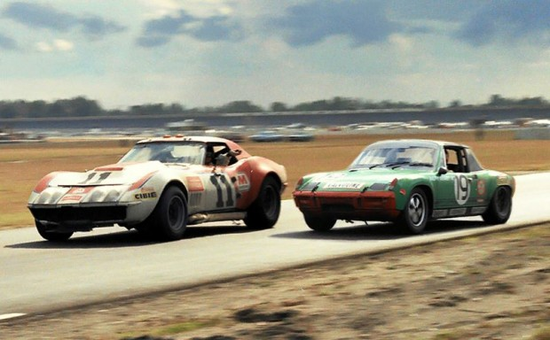 Don Yenko Corvette and John Buffum in Porsche 914/6