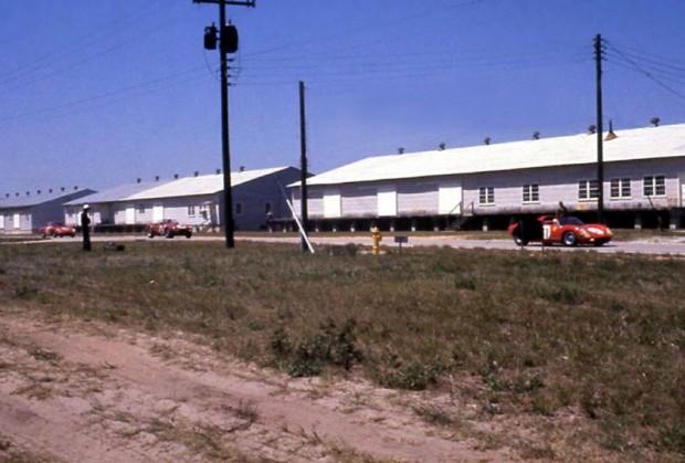 Warehouse straight at Sebring, 1966