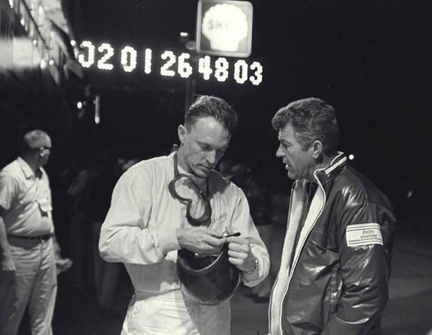 Dan Gurney, Carroll Shelby, 1966 Sebring 12 Hours