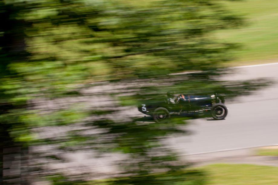 Tom Clifford's 1929 Bugatti 37A. HMSA Sommet des Legendes 2013 (Taken at 1/40 sec.@ f/11.0 - ISO 100) © 2013 Victor Varela