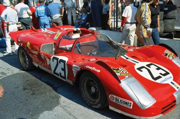 Tony Adamowicz / Ronnie Bucknum NART Ferrari 512S Spyder